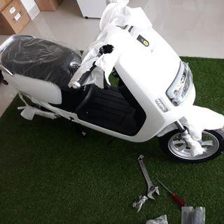 Motor listrik ECGOBIKE 2 Putih