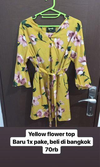 Yellow Flower Top