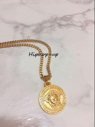Hiphop圖騰金項鍊