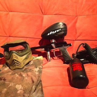 Paintball full accessory set