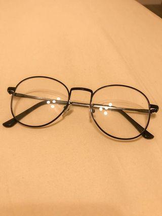 文青復古平光眼鏡(顯臉小)