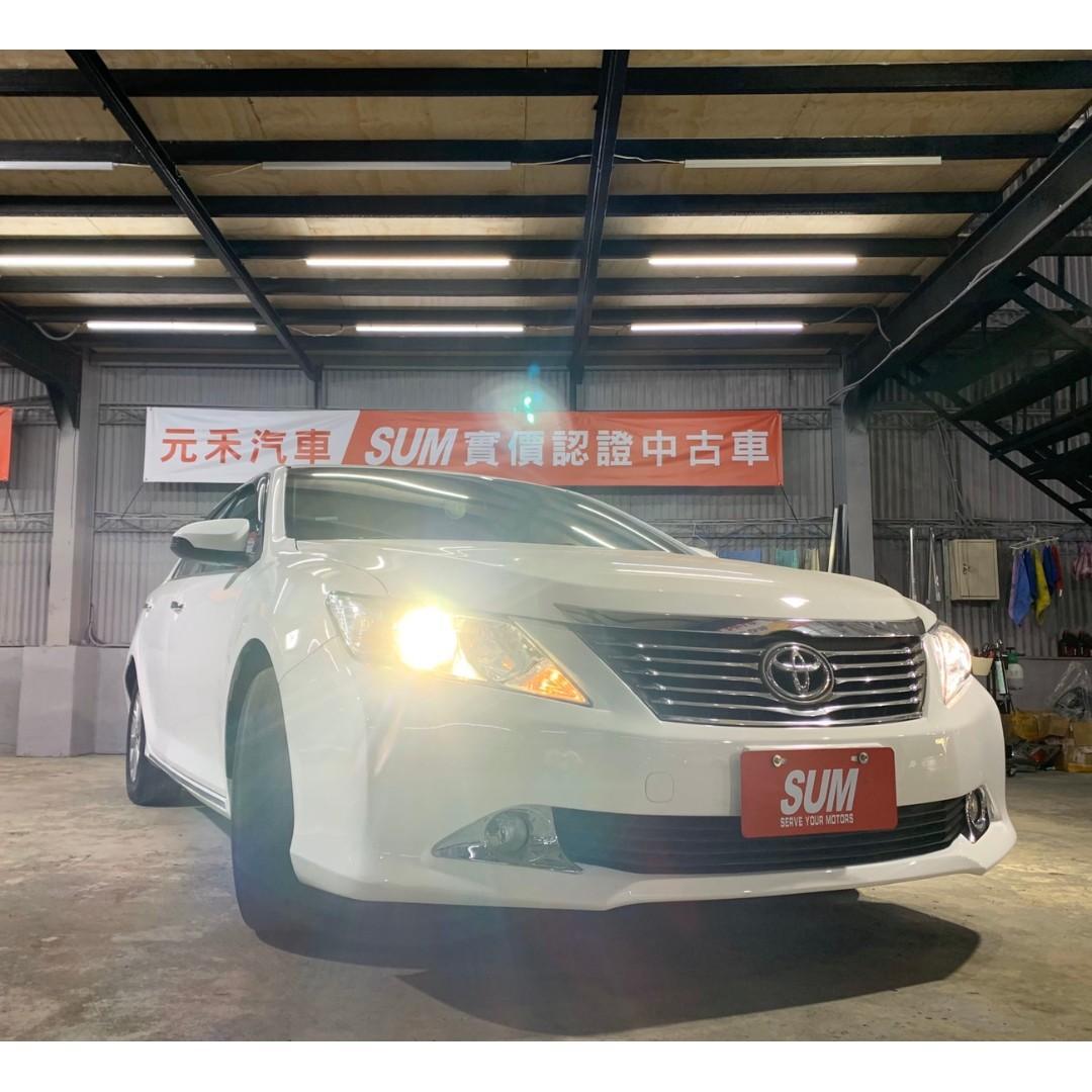 2012 Toyota Camry 2.0 非自售 代步車 實車實價