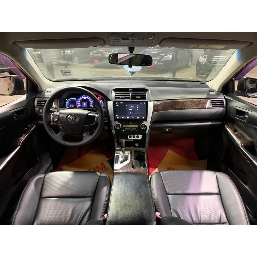 2012 Toyota Camry Hybrid 2.5G油電車 黑 非自售 代步車 實車實價
