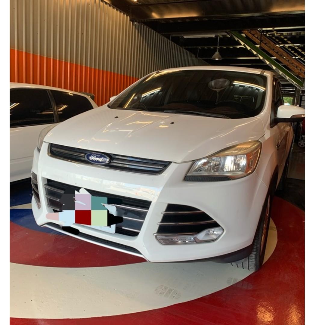 2014 Kuga 1.6 有渦輪,車況如新 新北看車,歡迎談價錢 38.8萬,保障,0906505434
