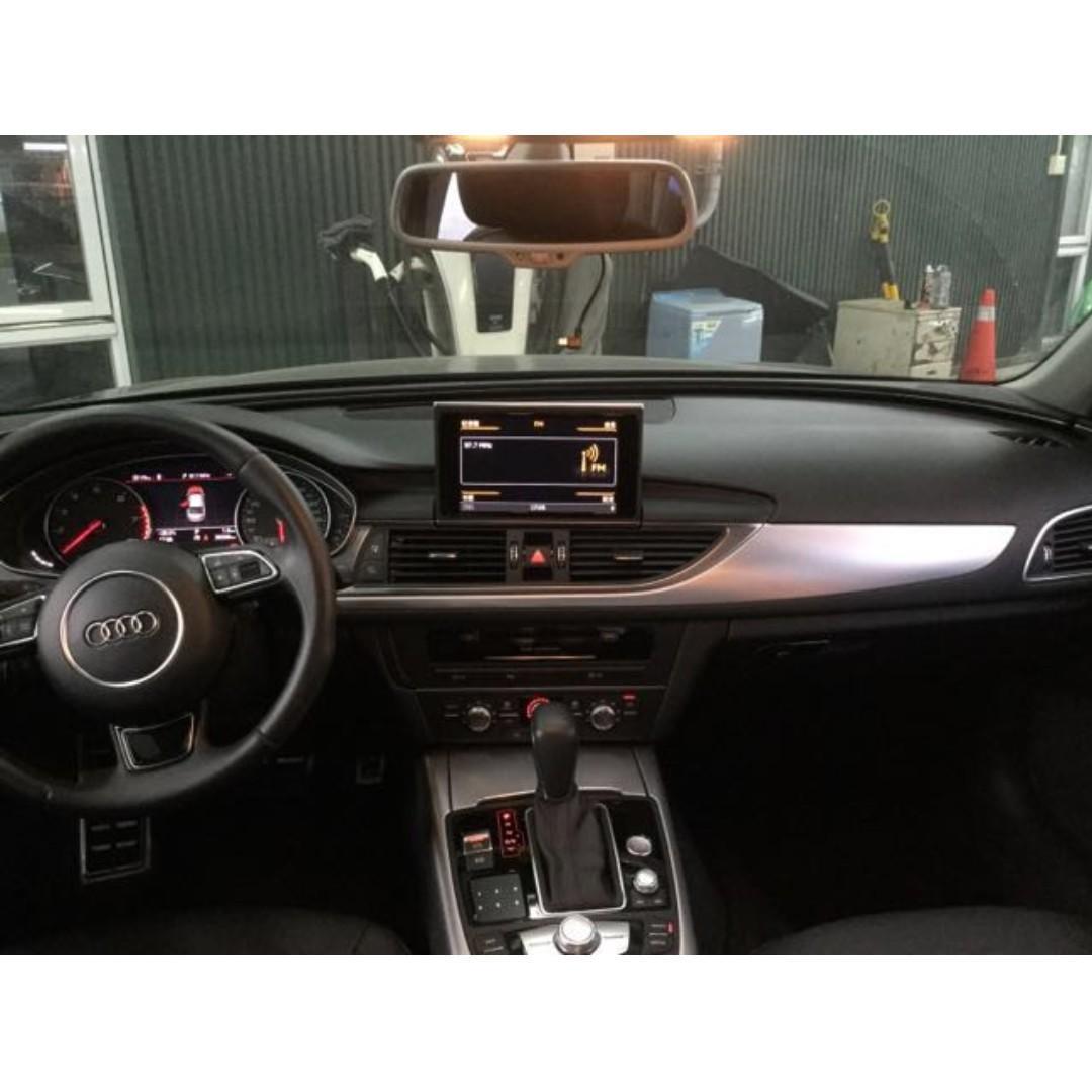 【嚴選超低里程優質車】2015年 AUDI A6 35 TFSI【經第三方認證】【車況立約保證】
