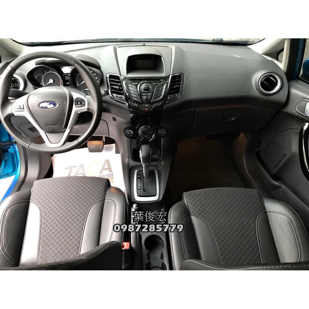 福特原廠認證中古車2017年Ford Fiesta 1.0s 汽油渦輪 五門頂級 新車保固中