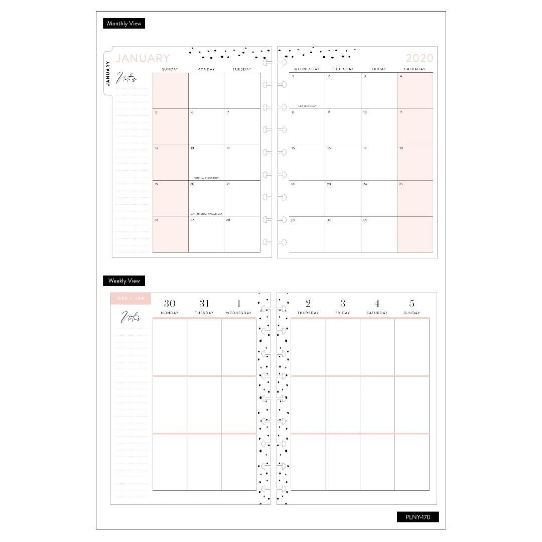 ★2020 Planner★ Be Grateful Teresa Collins 2020 Classic Medium Happy Planner