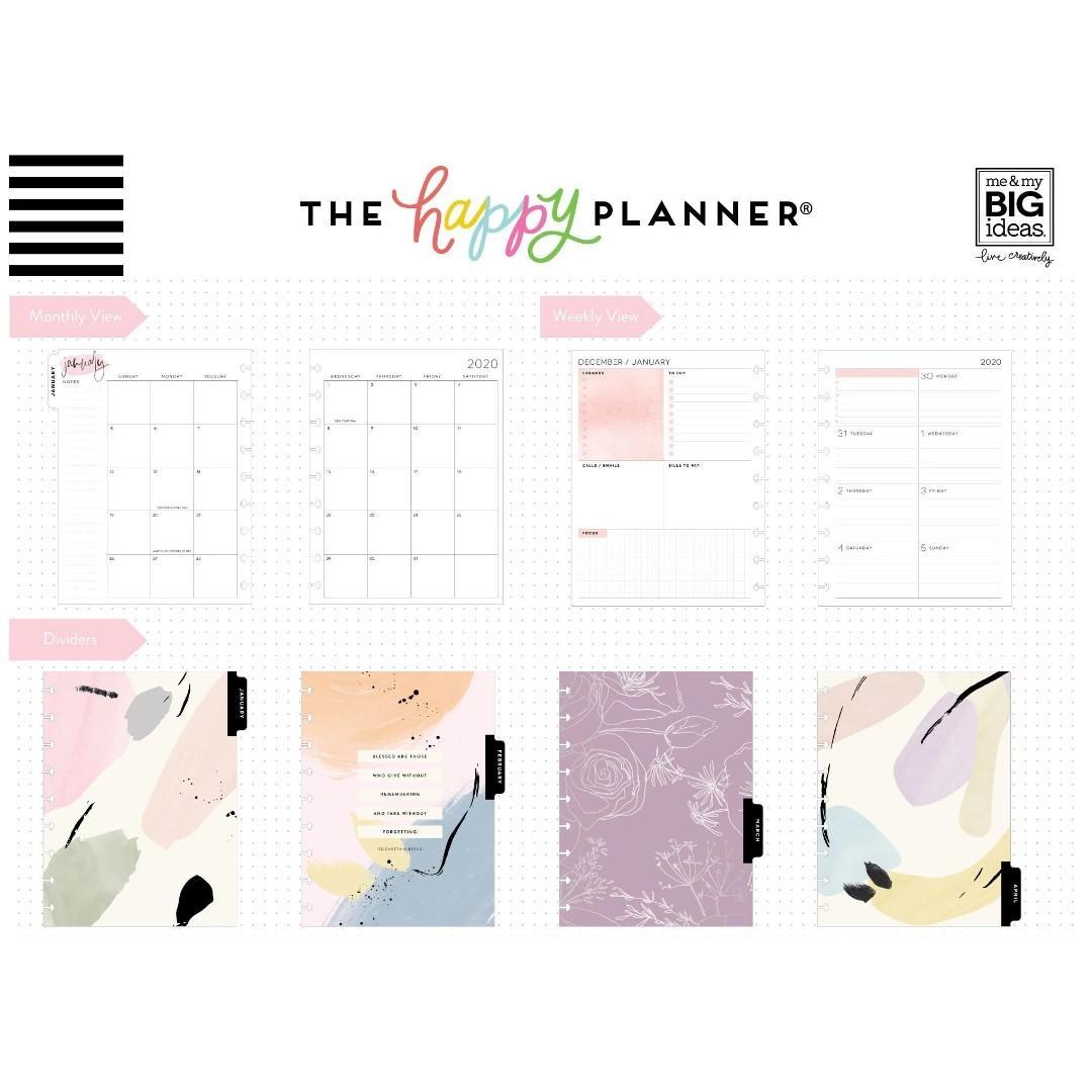 ★2020 Planner★ Painterly 2020 Classic Medium Happy Planner