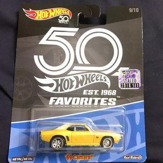 69 Camaro 50th anniversary