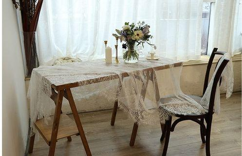 French Lace Table Cloth