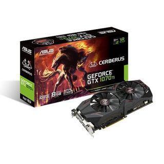 ASUS Cerberus GeForce® GTX 1070 Ti 進階版 8GB GDDR5