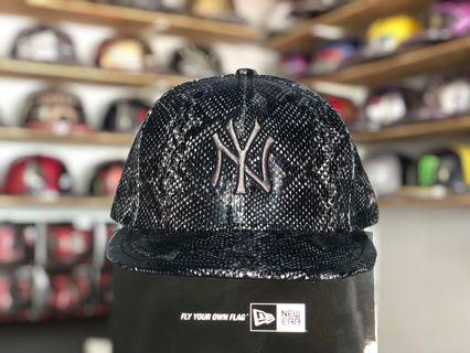 New Era  59fifty  New York Yankees Snake Skin Fitted cap 7 1/4