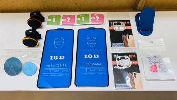 (贈送小配件) Apple iPhone pro 11 MAX 10D 螢幕 玻璃貼 全包鏡頭框 X XS MAX 適用