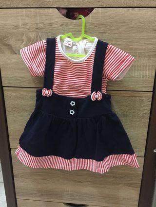 Mididress baby size 12-24m