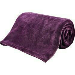 全新 簡約時尚 毛絨絨 冷氣毯 保暖毯 紫色(加入3M吸濕排汗易去汙助劑)