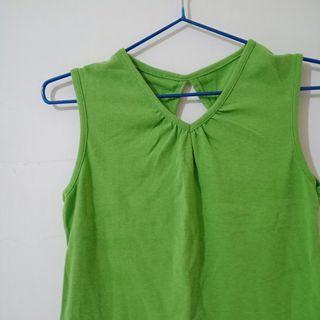 酪梨綠美背背心 #五折清衣櫃