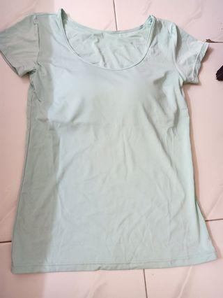 women T-shirt with span