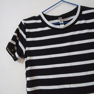 黑白條紋上衣 #五折清衣櫃