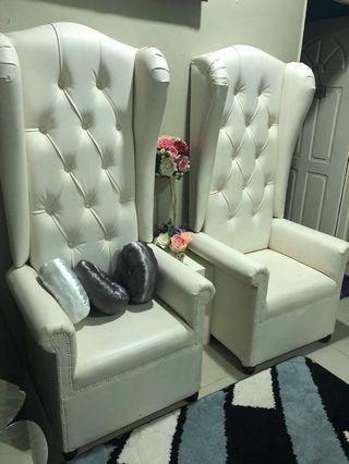Wing Chair Kerusi Pelamin High Back