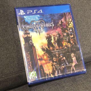 PS4 王國之心 日文版 全新未拆封