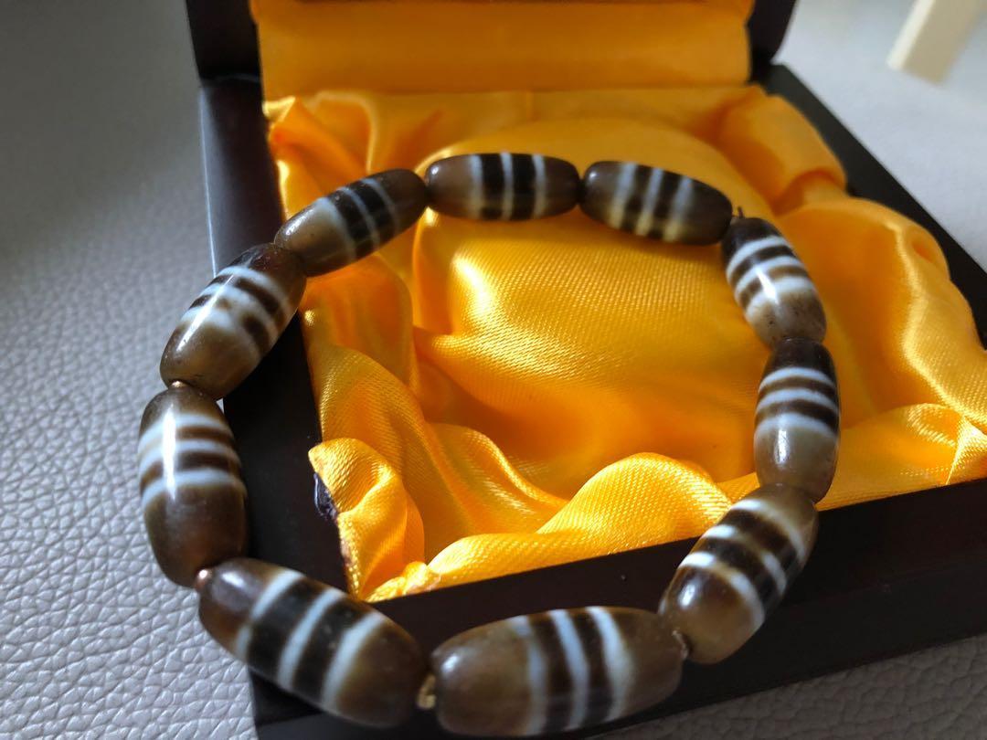 西藏天珠(線珠)手串