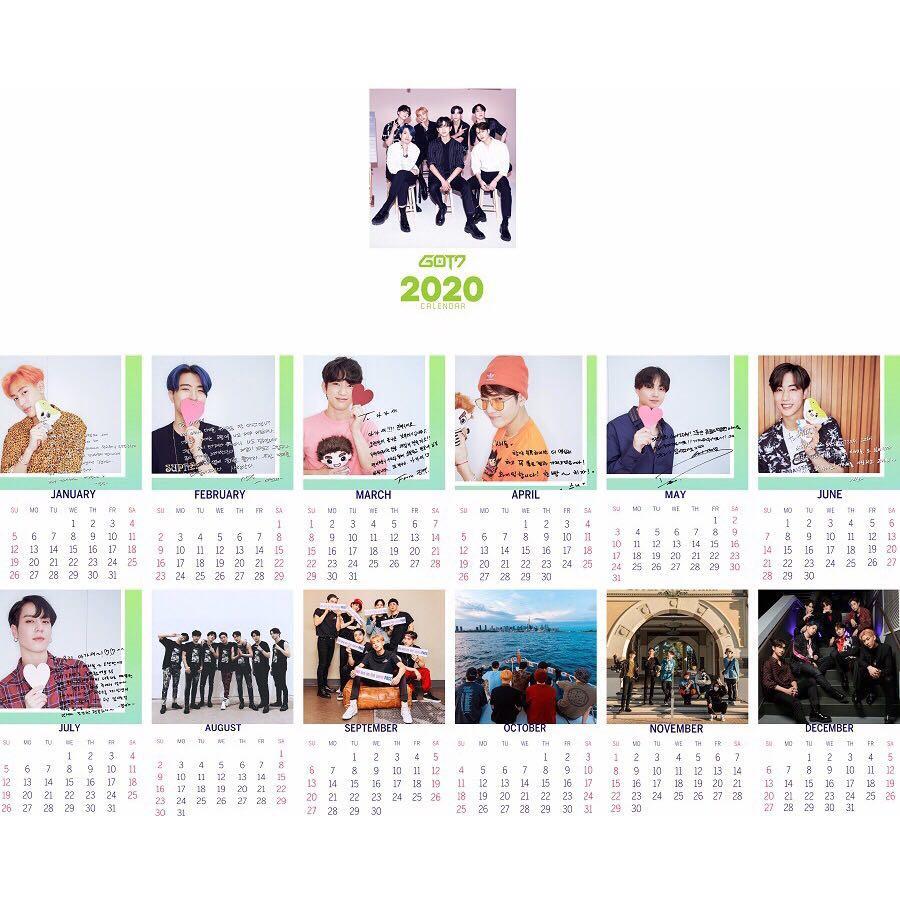 [🇲🇾 GROUP ORDER] Unofficial Mini Desktop Calendar 2020