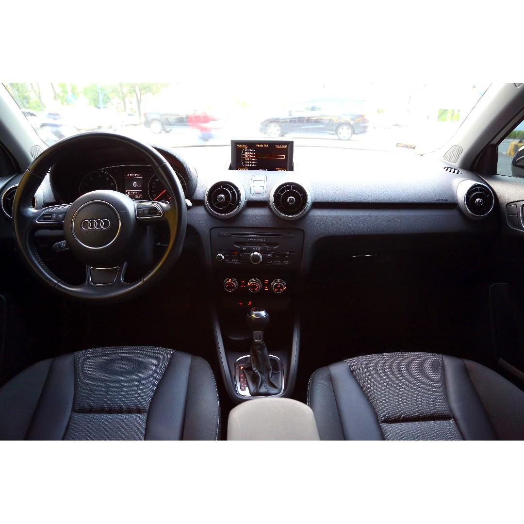 旭騰車業 HOT大聯盟認證 2012 Audi A1 雙門 白色 動力足 好操控