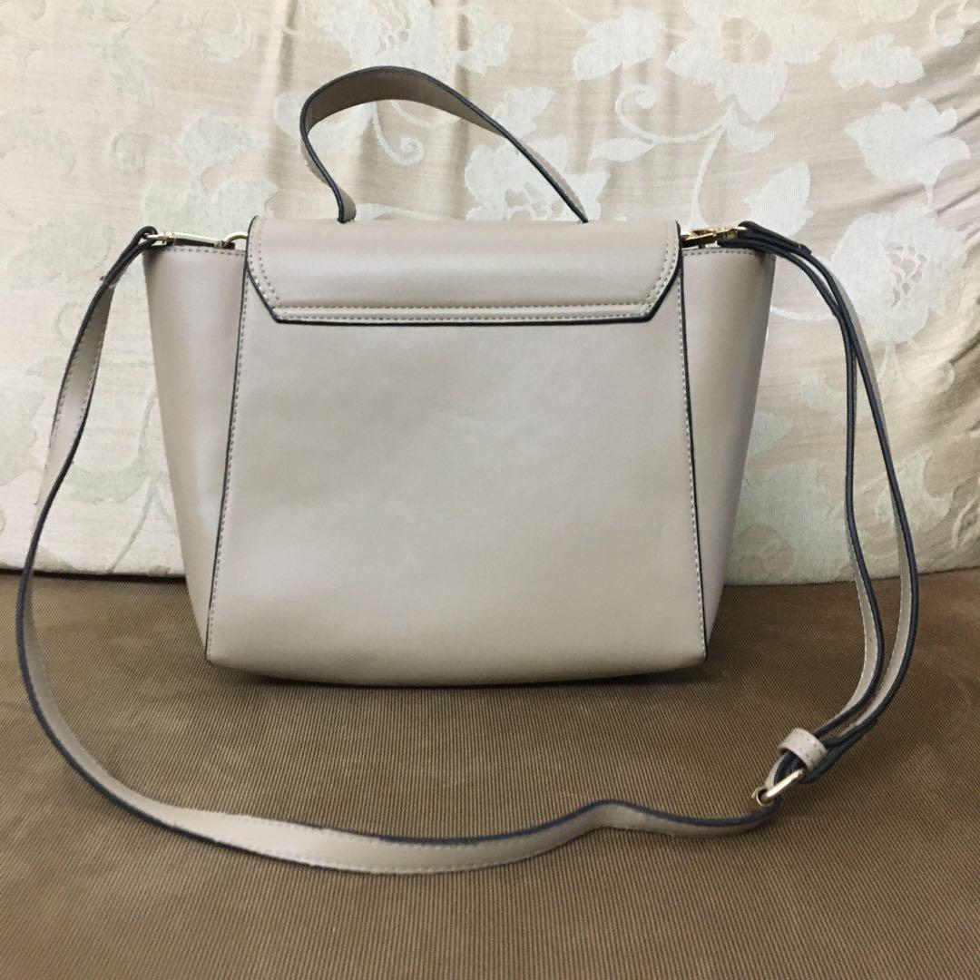 卡奇色袋 khaki bag handbag 手袋 優雅 elegant