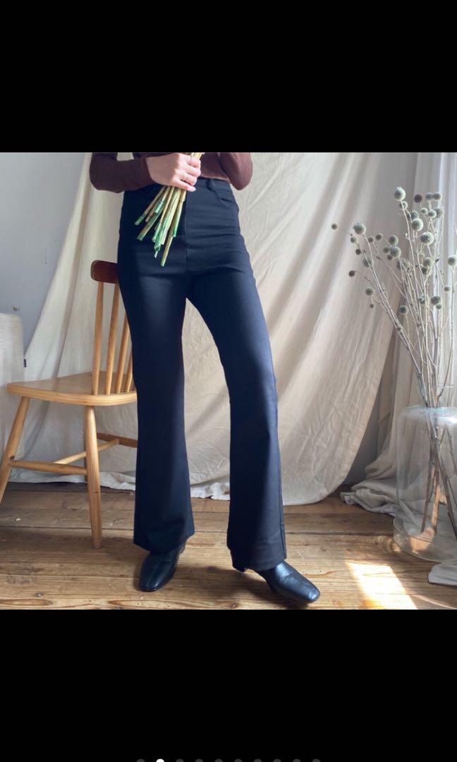轉賣秘密島 s號貴婦歐膩微喇吧褲/ 圖三有尺寸 原價800 僅試穿
