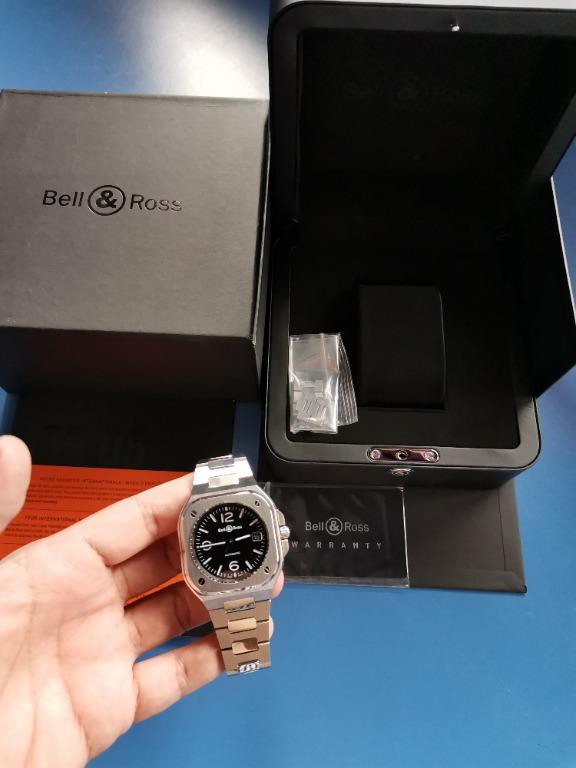 Bell & Ross BR05 Black Steel