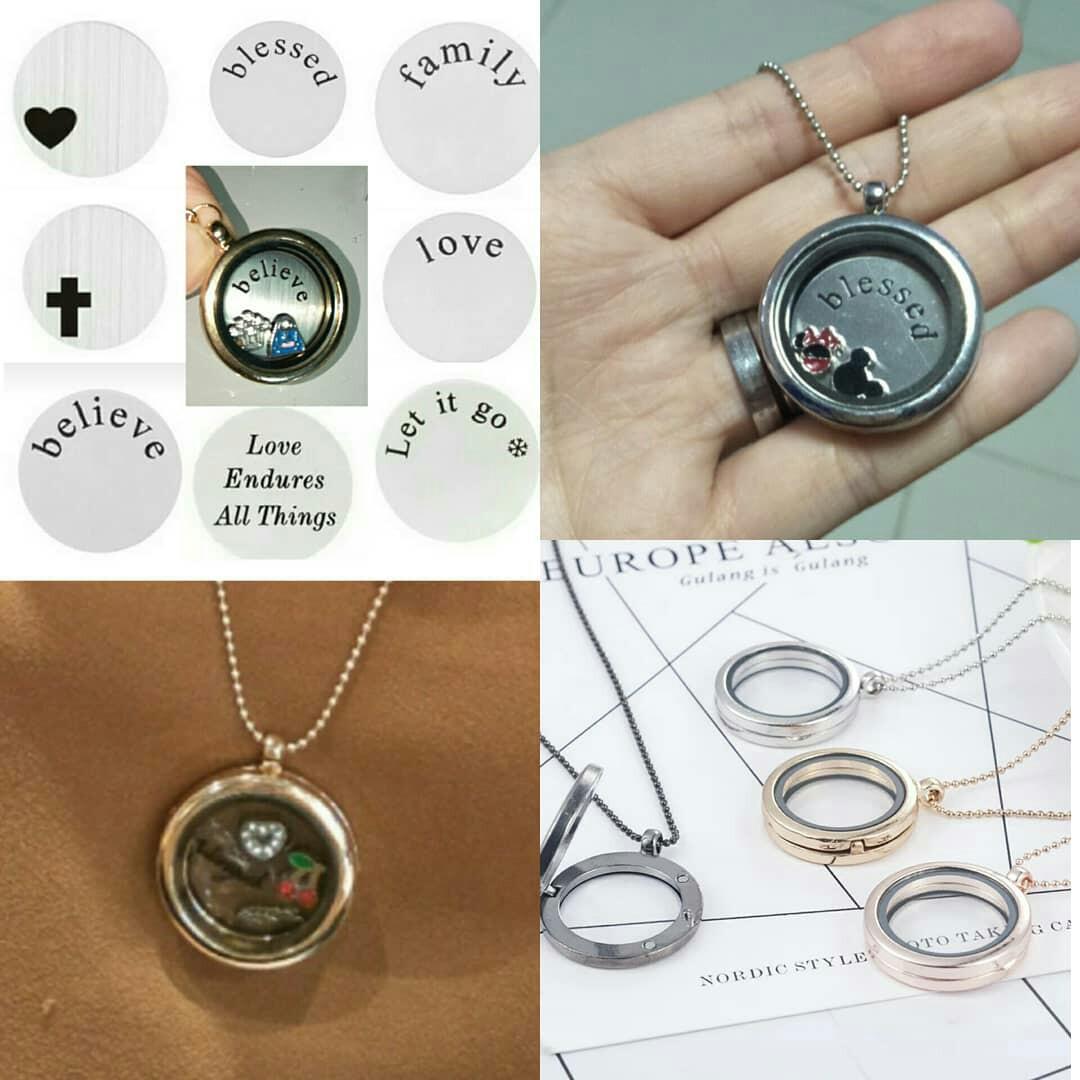 Bridesmaids Gift - DIY lockets