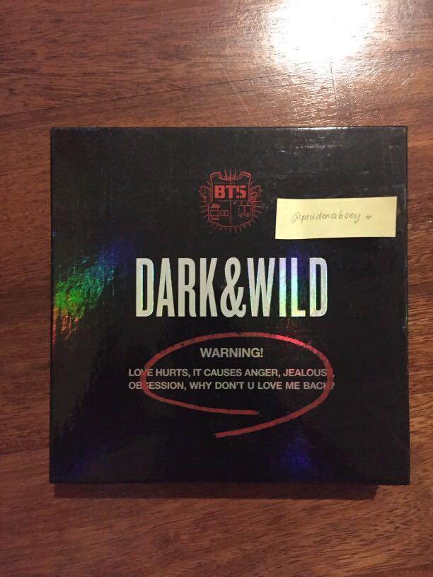 BTS Dark&Wild Album