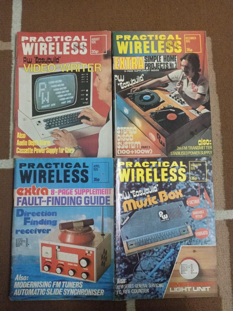 Buku rujukan elektrik elektronik lama/vintage