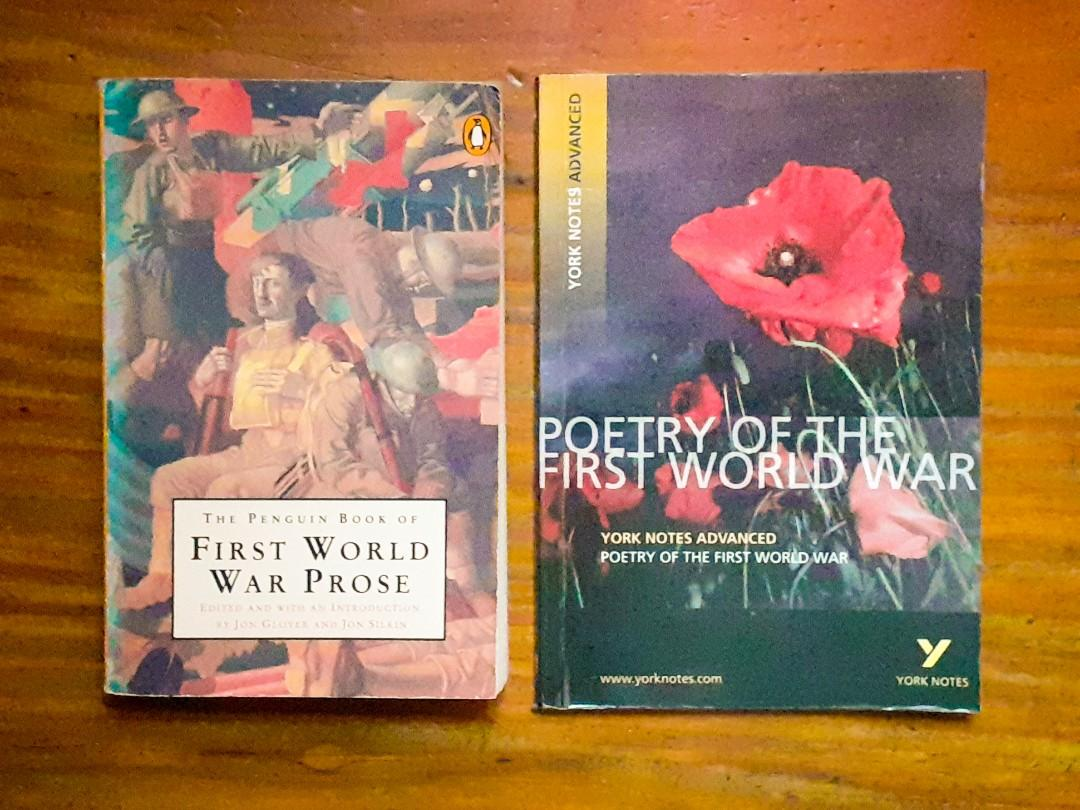 Bundle Set 3: York Notes Advanced: Poetry of The First World War + The Penguin Book of First World War Prose