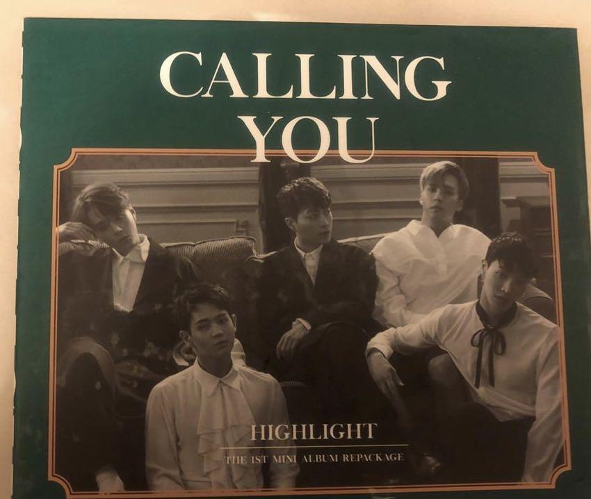 (Buy 1 Free 1) 100% original Highlight - calling you album