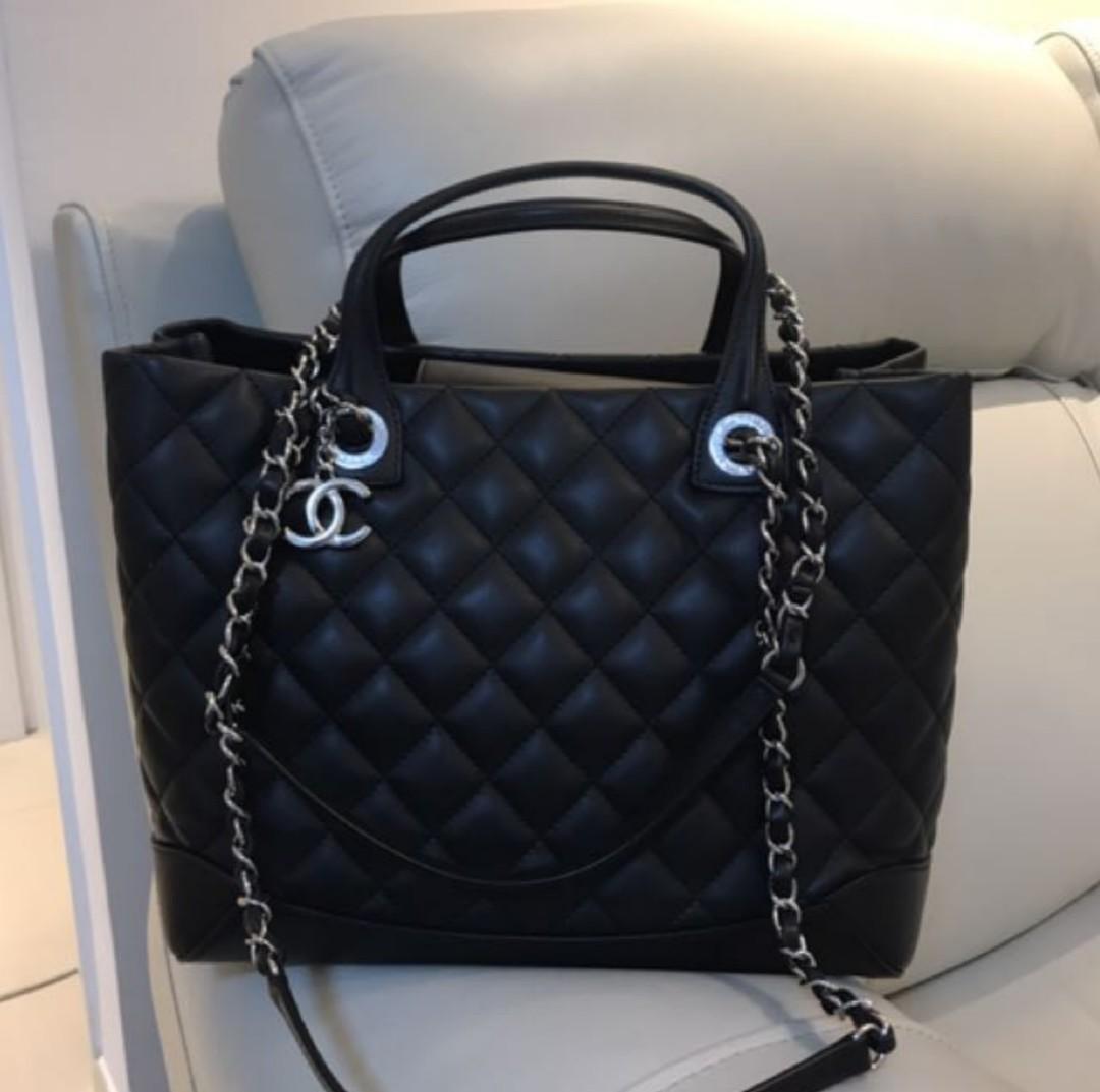 CHANEL 手抽 Handle Bag 牛皮 兩用袋 #sellmybags