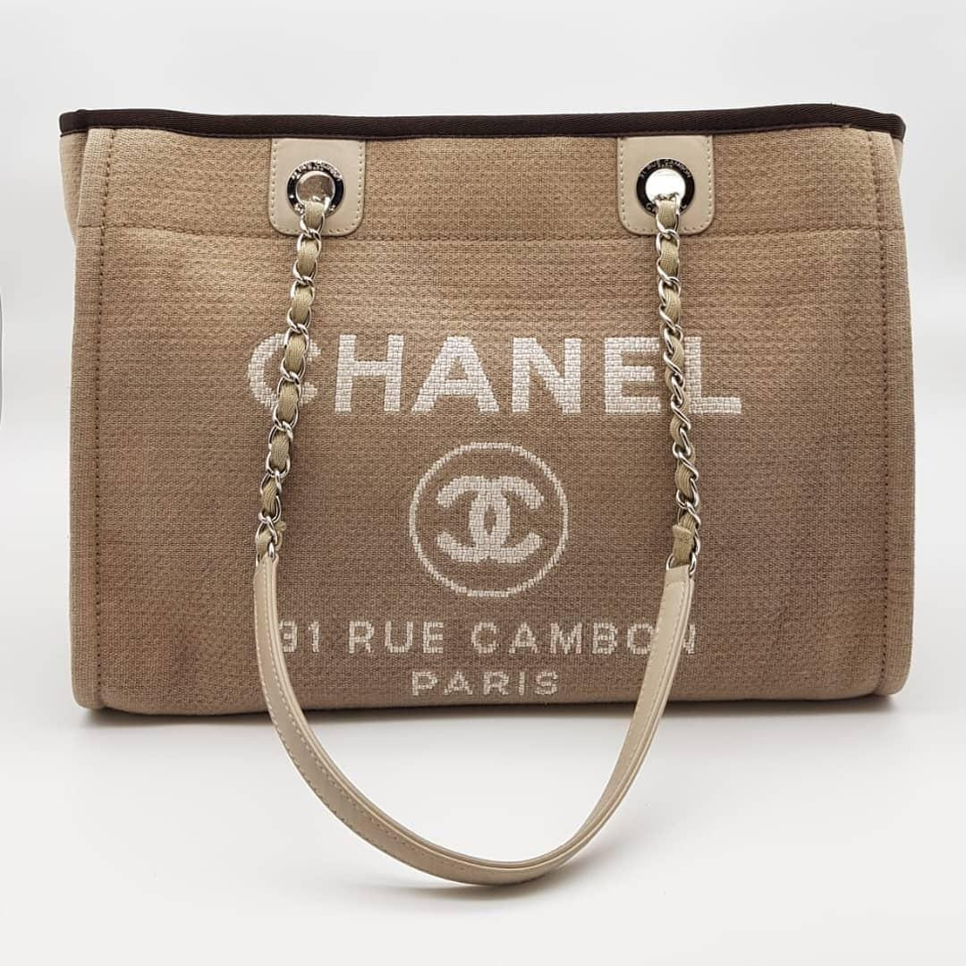 Chanel Deauville Shopping Tote