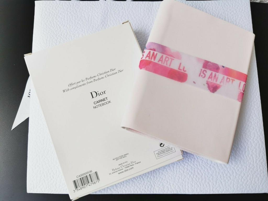 DIOR ~ MISS DIOR CARNET NOTEBOOK WITH SMALL PENCIL ~ NEW IN BOX