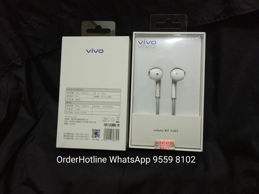 Earphones Vivo XE680