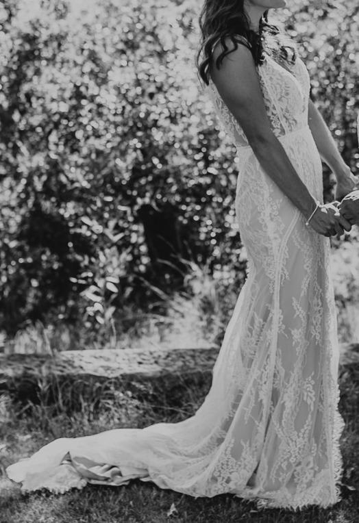 Eden Wedding Gown by Byron Bay designer Maddi Lane - dress size 8