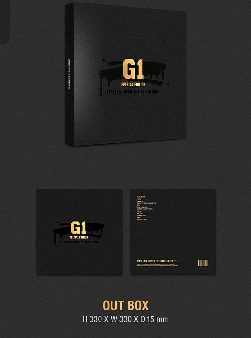 EUN JIWON - SPECIAL EDITION   THE 6TH ALBUM : G1 Limited Edition - PREORDER/NORMAL ORDER/GROUP ORDER/GO + FREE GIFT BIAS PHOTOCARDS (1 ALBUM GET 1 SET PC, 1 SET GET 9 PC)