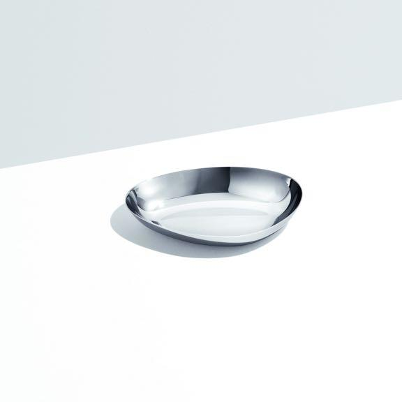 Georg Jensen 喬治傑生 不鏽鋼月形盤 / 置物皿 - 小尺寸