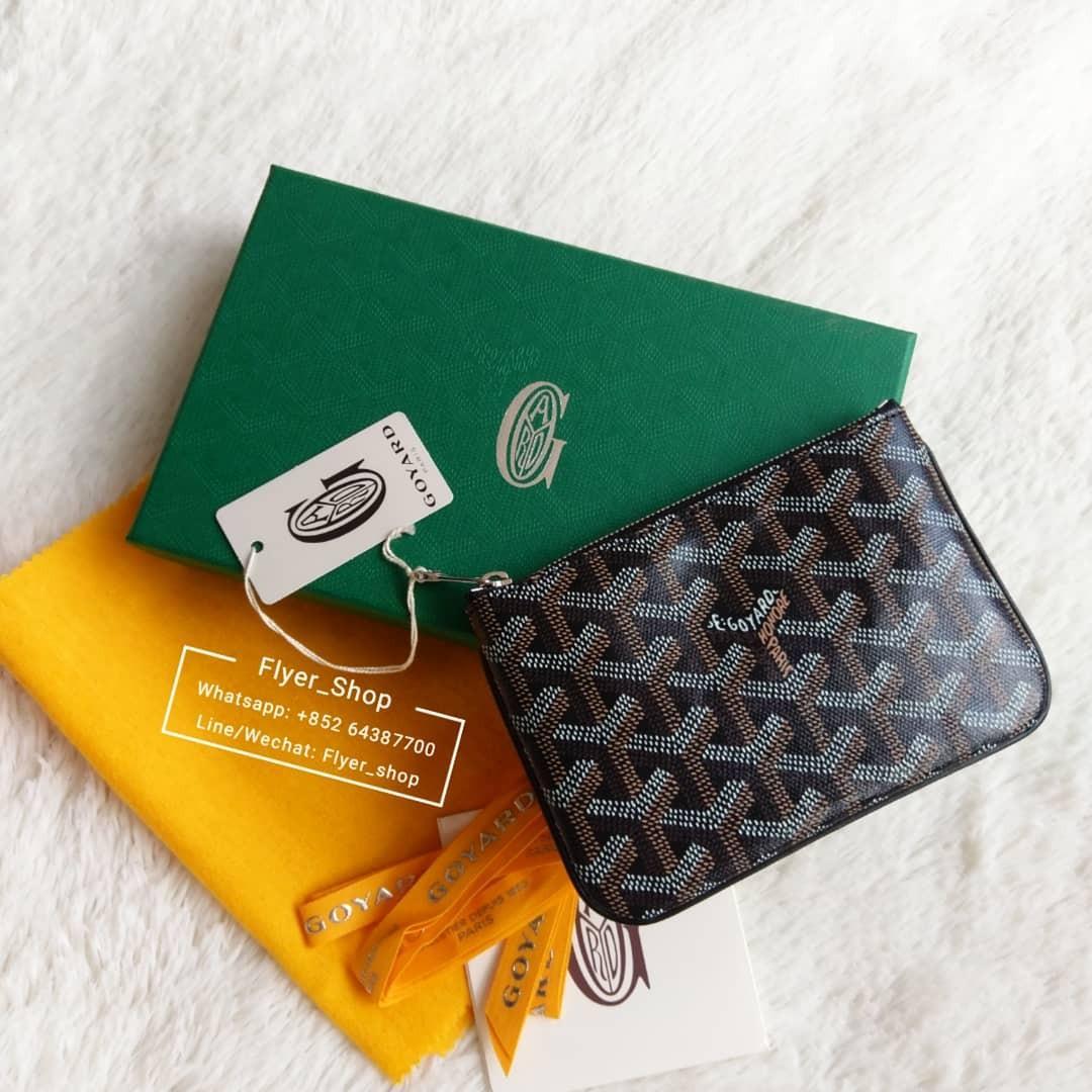 Goyard 黑色 Mini Pouch Card Holder Coin Purse
