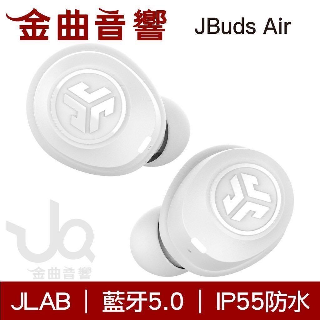 JLab JBuds Air 白 真無線藍牙耳機  二手九成新