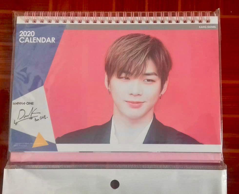 Kang Daniel 2020 Calendar