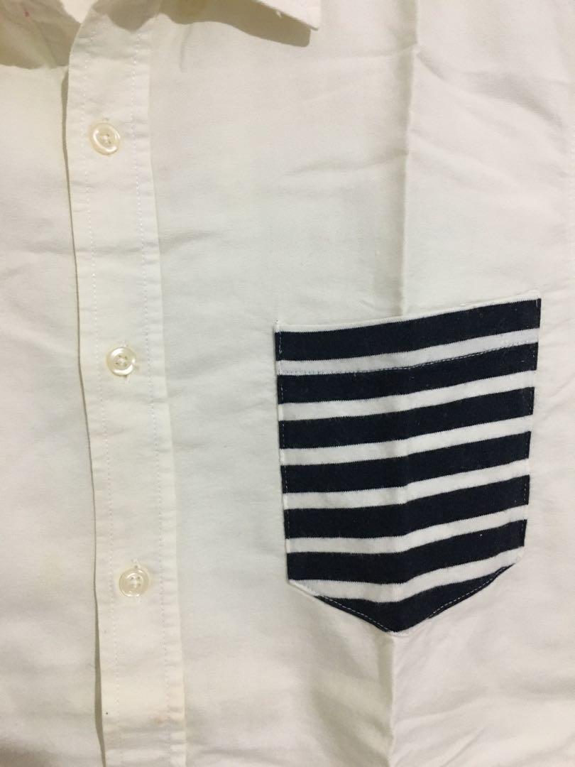 Kemeja Putih size M