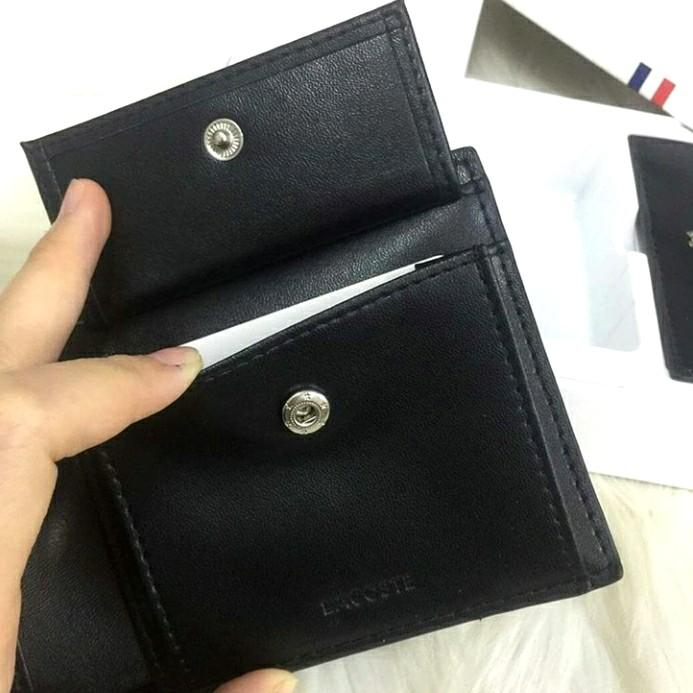 LACOSTE double wallets set (Authentic)