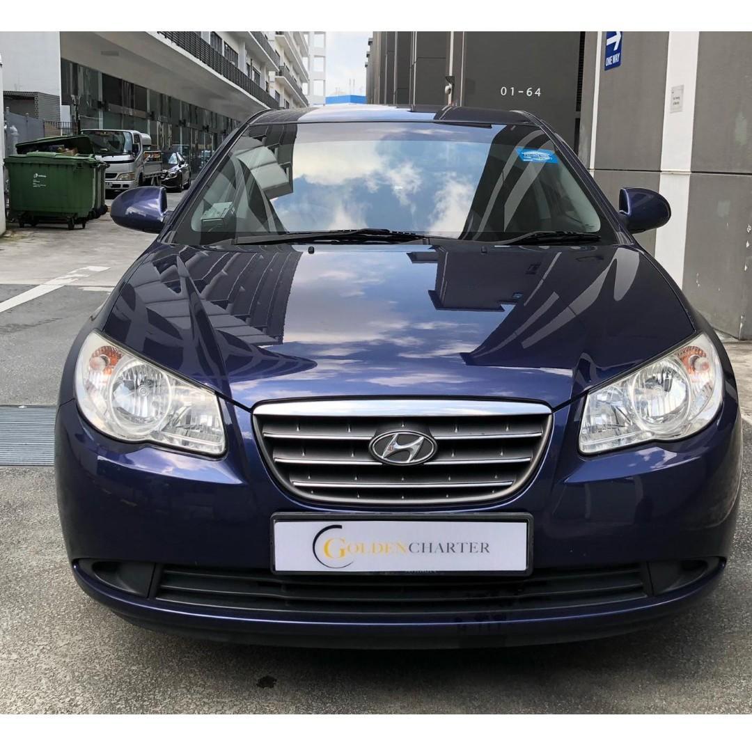 Last Unit! Hyundai Avante, for phv or personal welcomed ! Gojek GRAB TADA Ryde