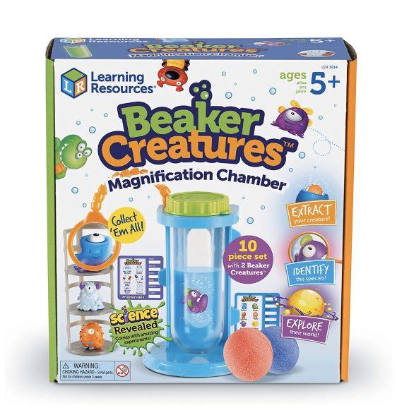 PRE-ORDER: Learning Resources Beaker Creatures Magnification Chamber Science Activity Set