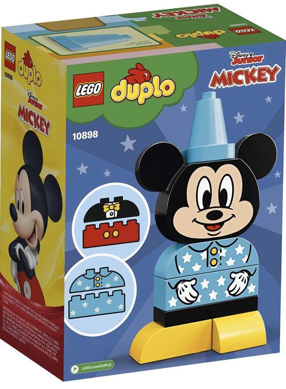 LEGO DUPLO Disney Juniors My First Mickey Build 10898